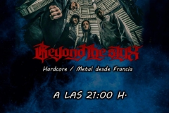 2019-02-12 Reyond the Styx, Las Musas (01) Cartel